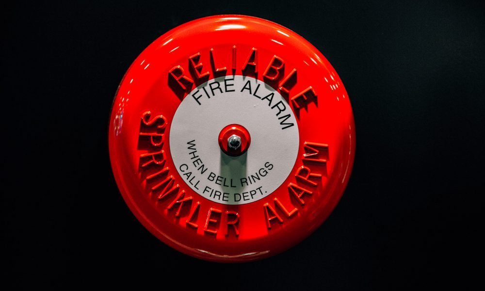 Fire sprinkler alarm master egress analysis