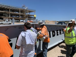 Raiders Headquarters Topping Out Event TERPconsulting